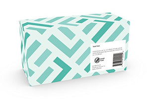 Amazon Brand - Solimo Facial Tissues (18 Flat Boxes), 160 Tissues per Box (2880 Tissues Total)
