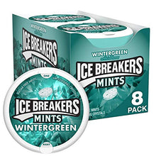 Load image into Gallery viewer, Ice Breakers Mints, Wintergreen, Sugar Free, 1.5 Ounce (8 Count)