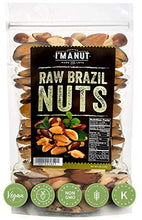 Load image into Gallery viewer, Raw Brazil Nuts 32oz (2 Pounds) Superior to Organic, No PPO, Probiotic, Large,Fresh and Reasealable bag