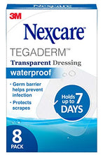 "Load image into Gallery viewer, 3M Nexcare Tegaderm 2.37""x2.75"" Dressing Pad 8 Ct"