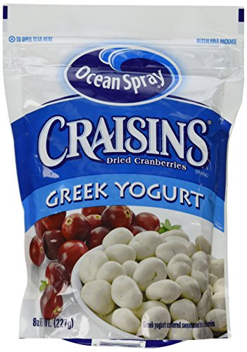Ocean Spray Craisins Dried Cranberries Greek Yogurt (Pack of 4)