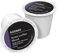 Load image into Gallery viewer, Amazon Brand - 100 Ct. Solimo Medium Roast Coffee Pods, Kona Blend, Compatible with Keurig 2.0 K-Cup Brewers