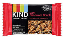 Load image into Gallery viewer, KIND Healthy Grains Granola Bars, Variety Pack, Dark Chocolate Chunk, Peanut Butter Dark Chocolate, Maple Pumpkin Seeds with Sea Salt, Gluten Free, 1.2 oz, 15 Count