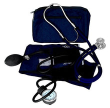 Load image into Gallery viewer, Dixie EMS Blood Pressure and Sprague Stethoscope Kit - Blue