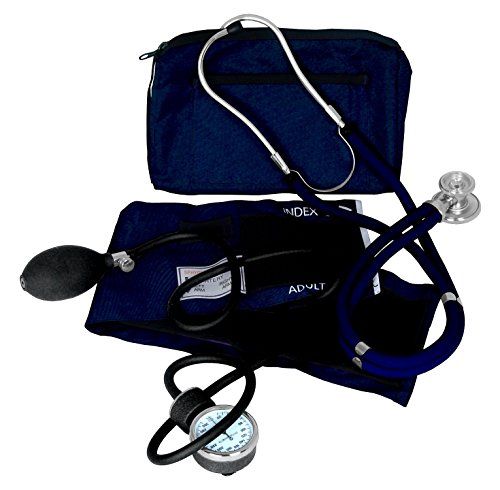 Dixie EMS Blood Pressure and Sprague Stethoscope Kit - Blue