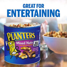 Load image into Gallery viewer, PLANTERS Mixed Nuts, 56 oz. Resealable Container | Roasted Nuts: Less Than 50% PeanutsNuts are Measured by Weight), Almonds, Cashews, Hazelnuts & Pecans | Kosher