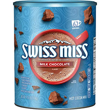 Load image into Gallery viewer, Swiss Miss Milk Chocolate Flavor Hot Cocoa Mix, 4.78 Lb Canister