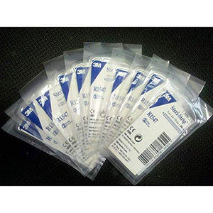 "3M Steri-Strip Reinforced Skin Closures - 1/2"" x 4"" - 20 Pack of 6 Strip Envelope (120 Strips)"