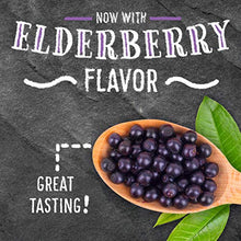 Load image into Gallery viewer, Elderberry + Vitamins & Zinc Crafted Blend Gummies, Airborne (60 Count in a Bottle), Gluten-Free Immune Support Supplement With Vitamins C, D & E That Has No Artificial Sweeteners & No Color Added