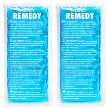 Load image into Gallery viewer, Gel Ice Packs for Injuries (2 Pack) – Reusable Cold/Hot Compress for Injury, Pain Relief, Rehabilitation, Flexible Therapy for Knee, Shoulder, Back, Neck, Ankle