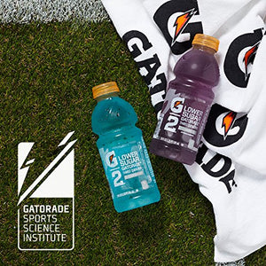 Gatorade Thirst Quencher, G2 Glacier Freeze and G2 Fruit Punch, 12 Ounce Bottles (Pack of 24)
