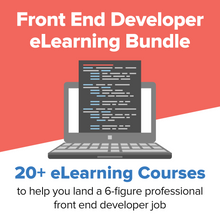 Load image into Gallery viewer, Front End Developer eLearning Bundle