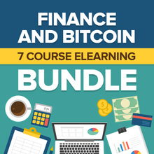 Load image into Gallery viewer, Finance and Bitcoin eLearning Bundle