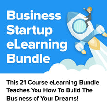 Load image into Gallery viewer, Business Startup eLearning Bundle