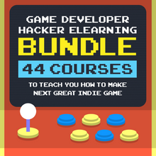 Load image into Gallery viewer, Game Developer Hacker eLearning Bundle