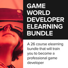 Load image into Gallery viewer, Game World Developer eLearning Bundle