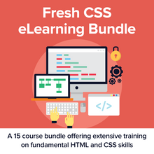Load image into Gallery viewer, Fresh CSS eLearning Bundle