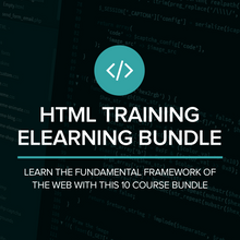 Load image into Gallery viewer, HTML Training eLearning Bundle
