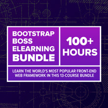 Load image into Gallery viewer, Bootstrap Boss eLearning Bundle