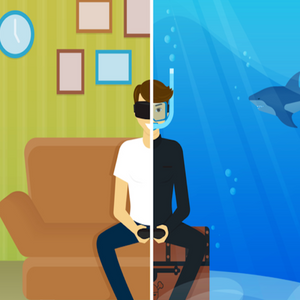 Build Virtual Reality Games for Android and iPhone