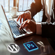 Load image into Gallery viewer, Building Wordpress Themes From Scratch with Photoshop