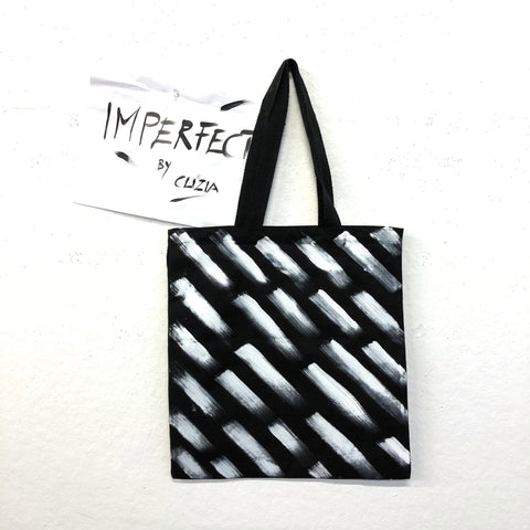 Imperfect Brush Hand-Painted Tote