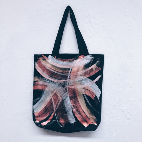 Imperfect Hand-Painted Tote Bag Luxury