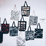 Imperfect Hand-painted Tote Bag_Dot&Dash
