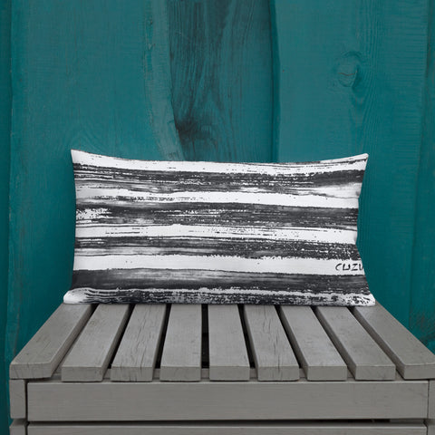 Imperfect Stripes Clizia Premium Pillow