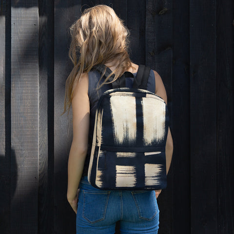 Imperfect Gold Brush Backpack