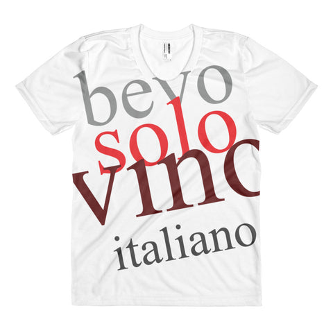 Bevo solo vino italiano - Woman T-Shirt