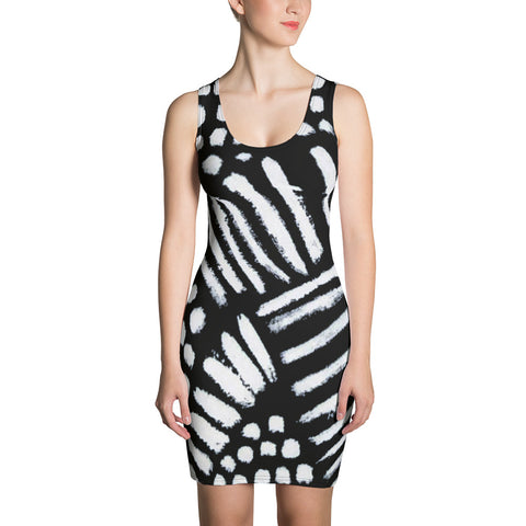 Imperfect Clizia 4 Sublimation Cut & Sew Dress