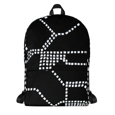 Imperfect Clizia Metro Black Backpack