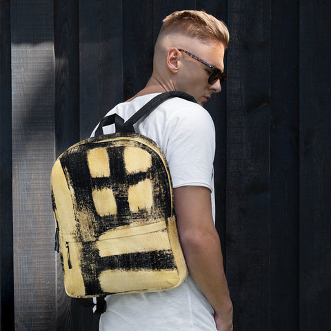 Imperfect Gold Backpack