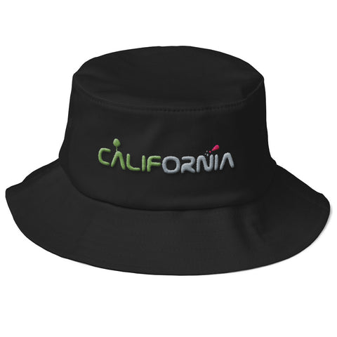 California Old School Bucket Hat by tettallatte