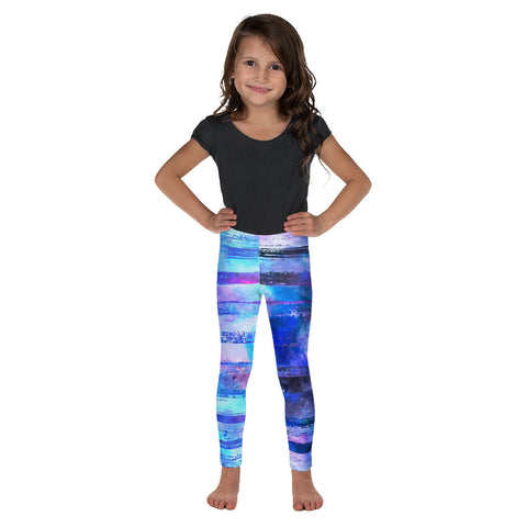 Clizia Kolor Kid's Leggings - Deep Blue