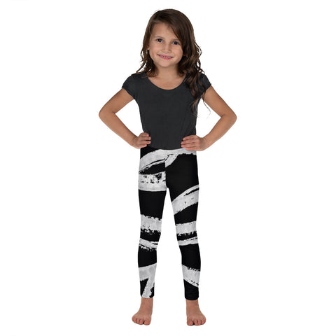 Imperfect Black Kid's Leggings