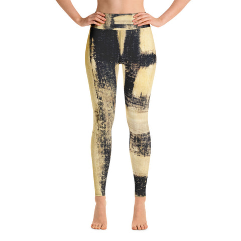 Imperfect Gold 22 Yoga Leggings