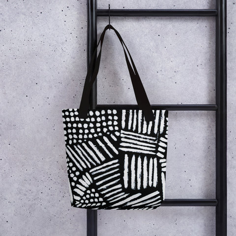 Imperfect Clizia Black Tote bag