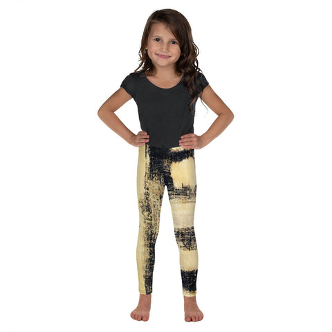 Imperfect Gold Kid's Leggings