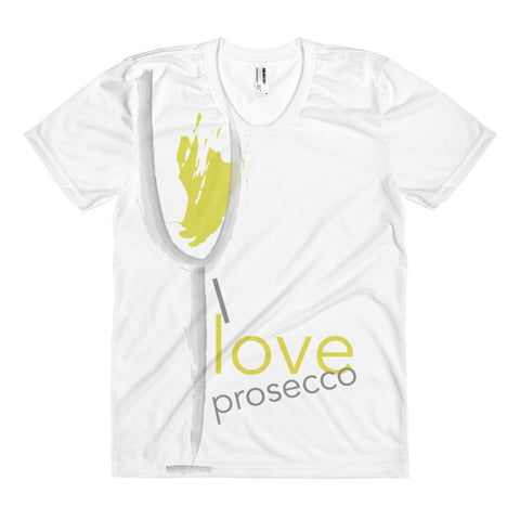 I love Prosecco - Women's sublimation t-shirt