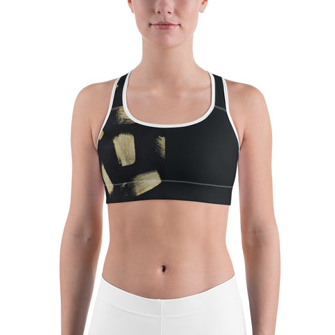 Imperfect Gold 22 Sports bra