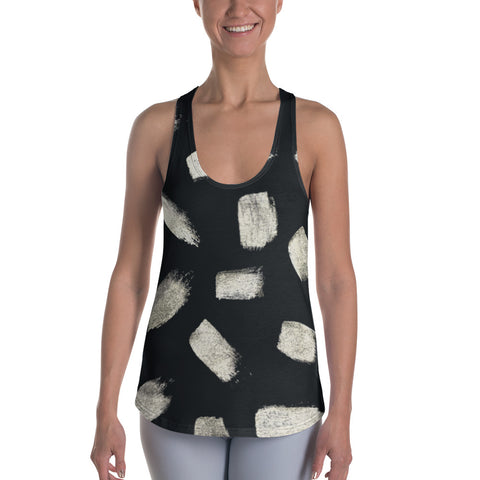 Imperfect Gold 1 Women's Racerback Tank