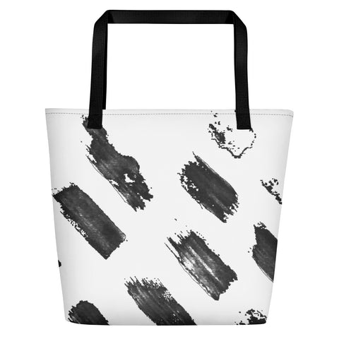 Imperfect brush Beach Bag