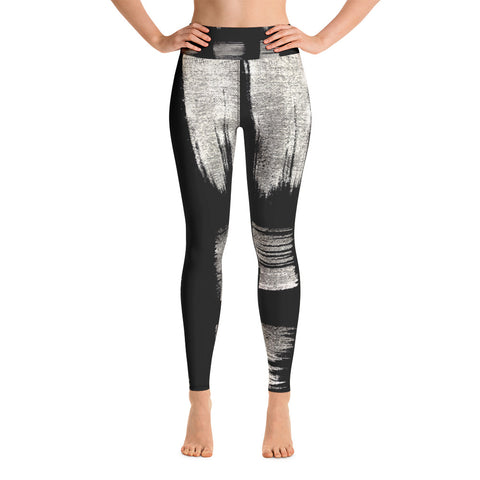 Imperfect Gold 4 Yoga Leggings