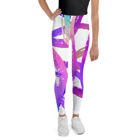 Clizia Kolor Youth Leggings - Arcobaleno