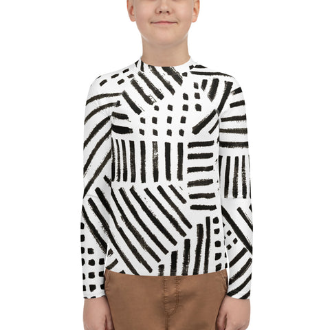 Imperfect Dash&Dots Youth Rash Guard