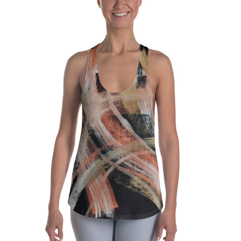Imperfect Paint Women's Racerback Tank