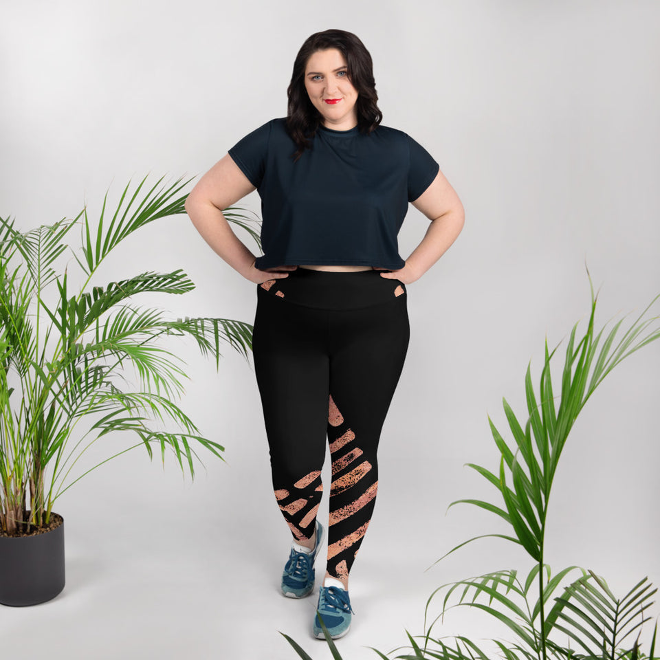 Clizia Plus Size Leggings