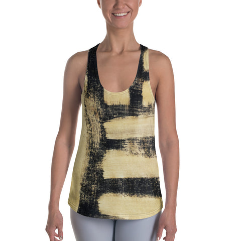 Imperfect Gold 3 Women's Racerback Tank